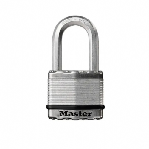 Master Lock M5EURDLF Excell Laminated Steel 50mm Padlock - 38mm Shackle